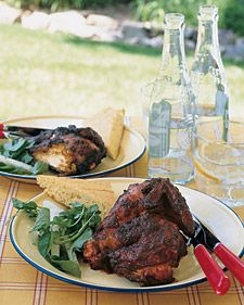 A spicy smoked-paprika marinade gives skin-on butterflied chicken a robust flavor. To give marinated chicken even more flavor, loosen the skin with your hand and spread some of the mixture underneath before grilling.