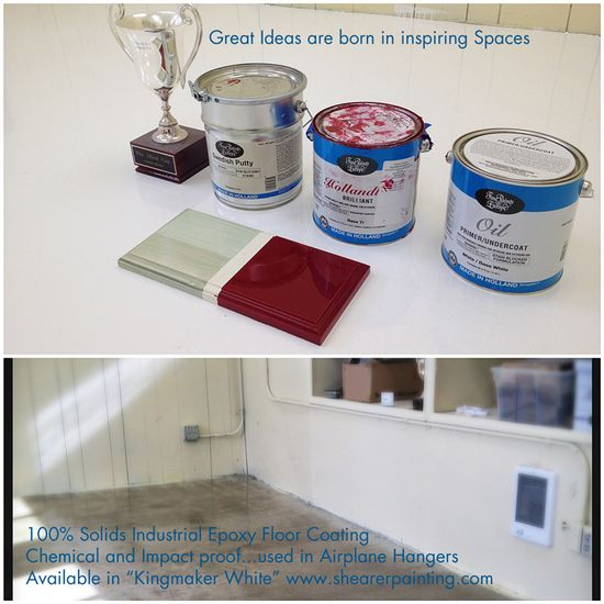 White painted floors Epoxy always works better on floors than paint especially in high traffic areas....