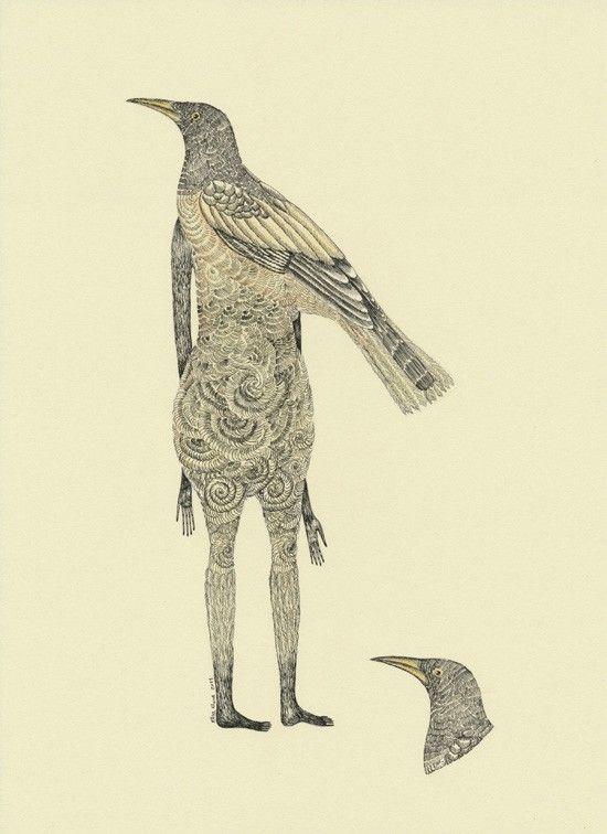 elsita- Head of bird