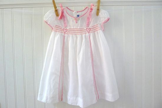 Vintage Baby Clothes Nannette Toddlers Dress