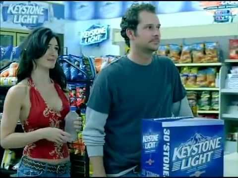 keystone light commercial funny