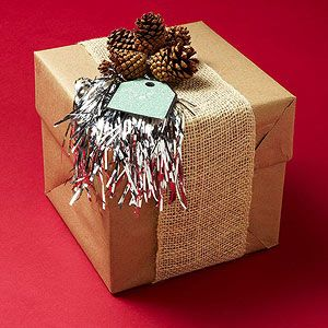 Natural Beauty Gift Wrap