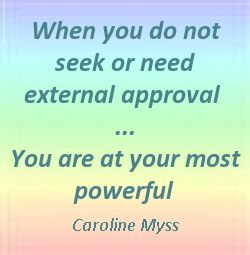 When you do not seek or need external approval - You are at your most powerful. #power quotes www.squidoo.com/...