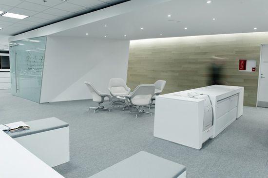 Polar Securities office by MacLennan Jaunkalns Miller Architects, Toronto