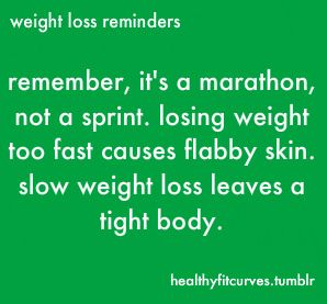 Weight Loss Reminders
