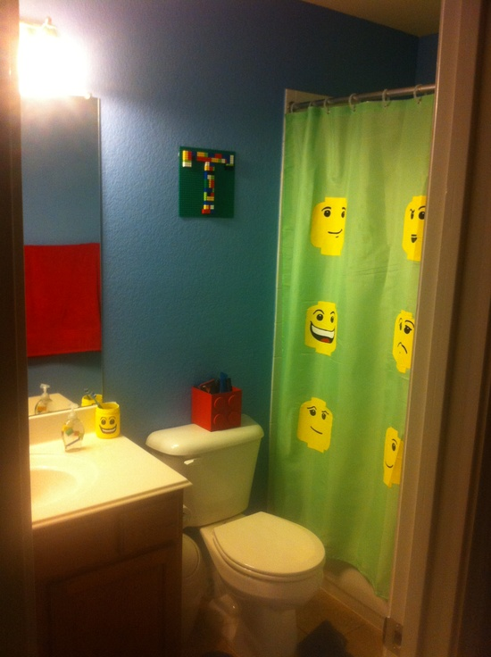 Lego kids bathroom