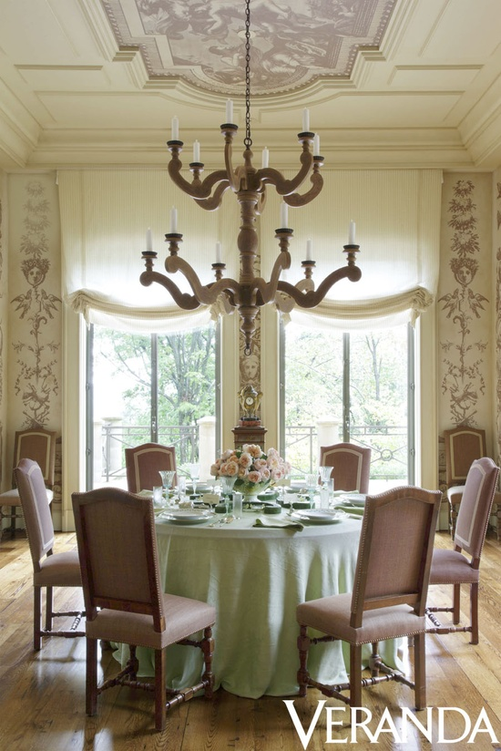 Matthew White's Hudson Valley home, as featured in Veranda's Sept./Oct. 2012 issue
