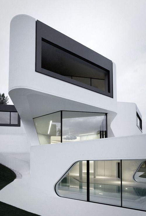 Futuristic architectural design