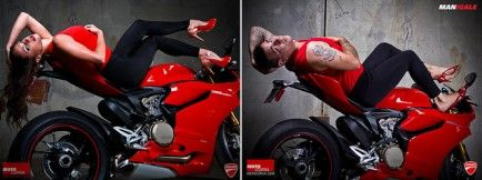 Burly Dudes Replace Hot Models to Illustrate Double Standards in Advertising