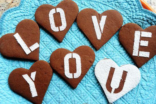 Chocolate Valentine Cookies!