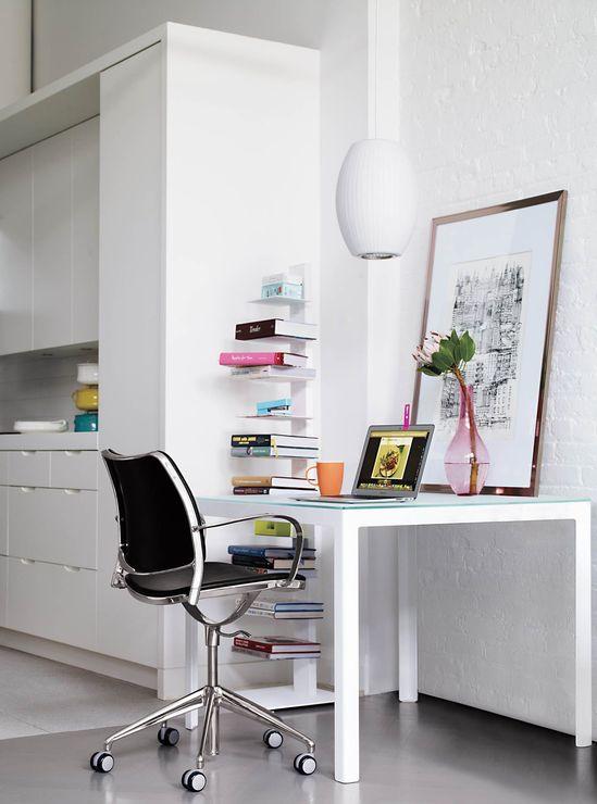workspace in the kitchen