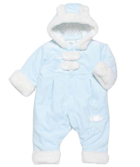 Baby Boy Winter Premier Snowsuit – Blue
