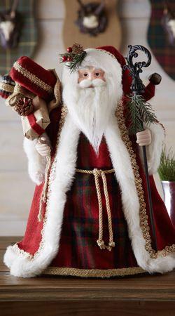 Traditional Cone Santa #Christmas #decor