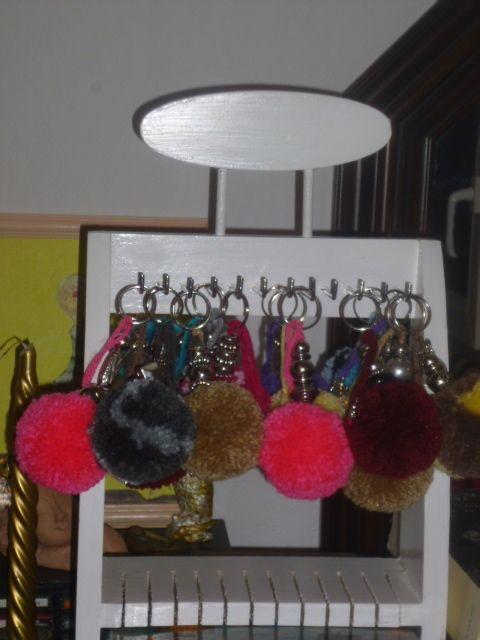 Pompons bijoux