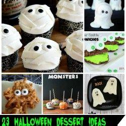 23 #Halloween Dessert Ideas