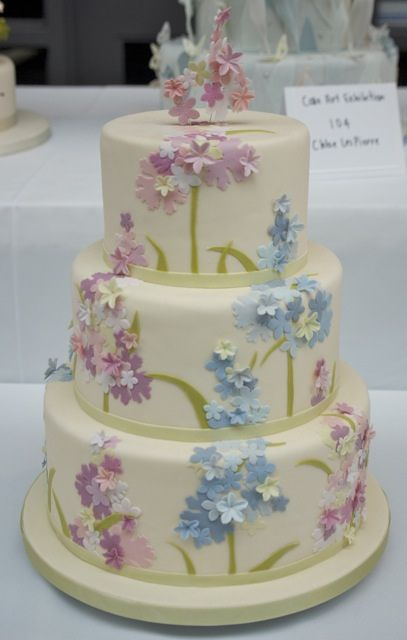 #pastel cake ... Wedding ideas for brides, grooms, parents & planners ... itunes.apple.com/... … plus how to organise an entire wedding ? The Gold Wedding Planner iPhone App ? pinterest.com/...