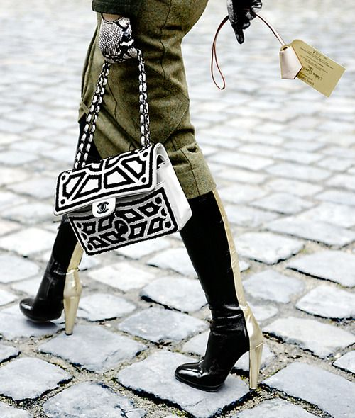 Oh, that Chanel bag...