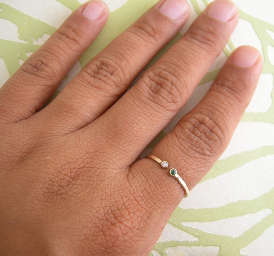 Dual Gemstone Ring