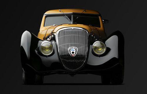 1936 Peugeot Darl'Mat 402 Coupe designed by Emile Darl'mat