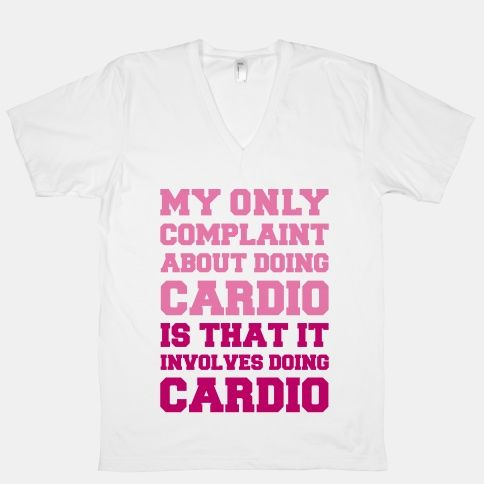 My Only Complaint About Doing Cardio #funny #workout #fitness #lazy #cardio #run #sweat #gym #cute