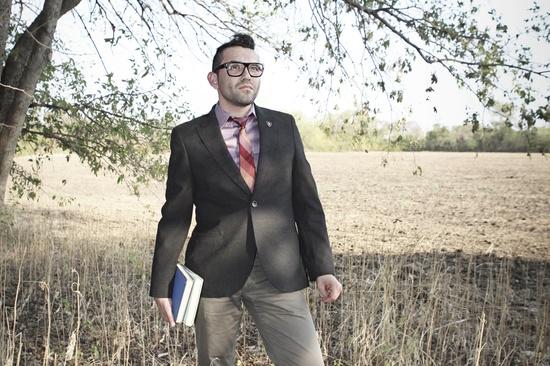 suit, tie, field, glasses, men's fashion, photography