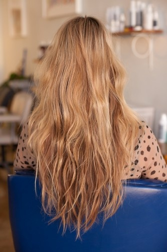 how to: beach waves for pin straight hair.   This is so much trouble...but I need to do it. Someday.