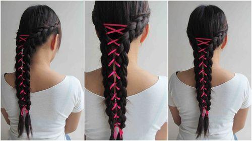 Corset Braid Hair DIY Fashion Tips / DIY Fashion Projects