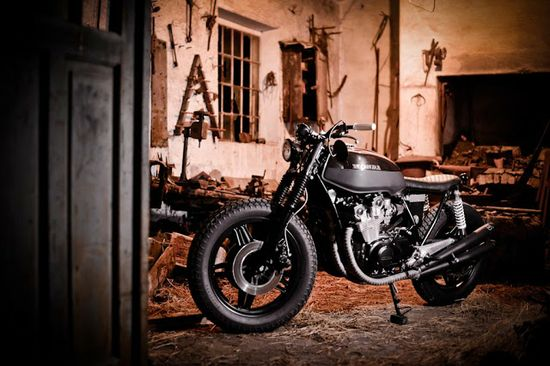 Honda CB750 Dark Brownie ~ Return of the Cafe Racers
