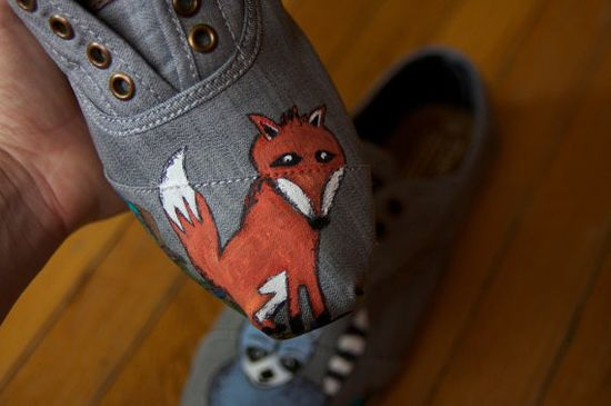 TOMS shoes - Mr Fox // shoes  TOMS  One for One fashion style
