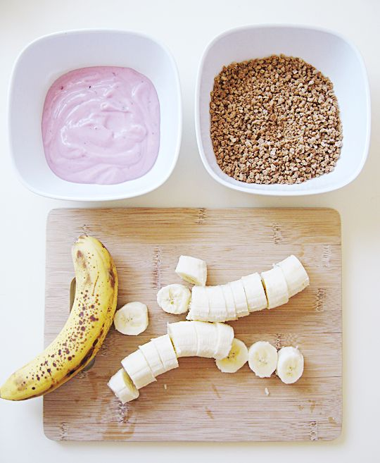 simple and healthy frozen treat Right up Natalee's alley!