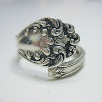 DIY spoon ring tutorial - A Christmas Stocking Stuffer Gift Idea for the Jewelry Lover