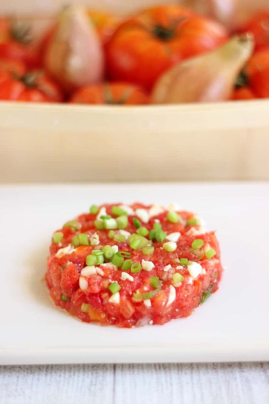 #tartare #tomates #recette #recipe #entrée #faitmaison #frenchcuisine