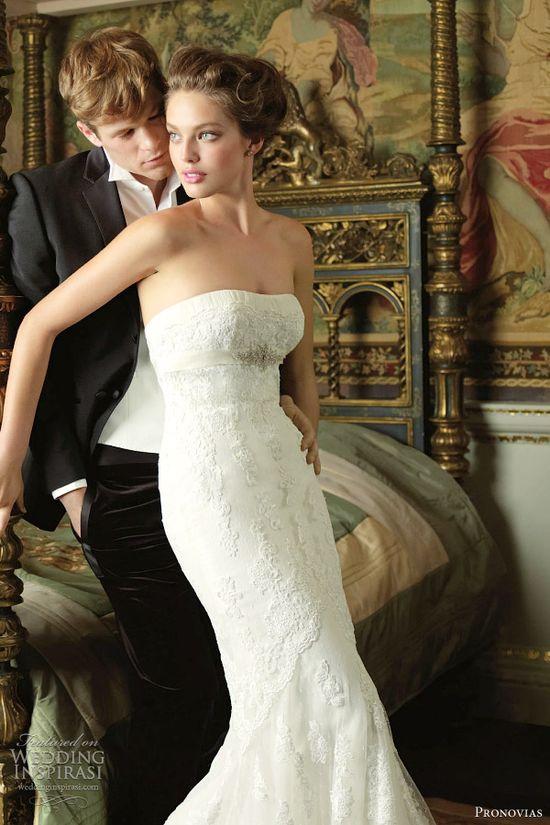 Pronovias 2012 Wedding Dresses