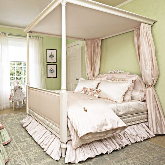 Sleeping Beauty 4-Poster Bed - Rooms by Zoya B.