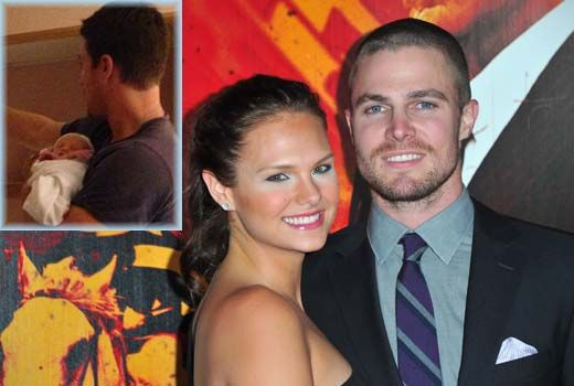 'Arrow's' Stephen Amell and Cassandra Jean welcome baby girl