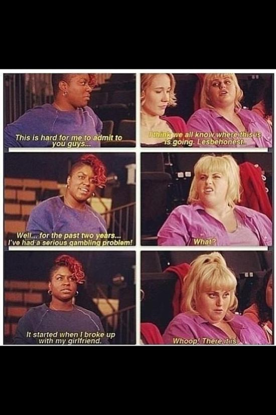 Pitch Perfect BEST line of the movie!!