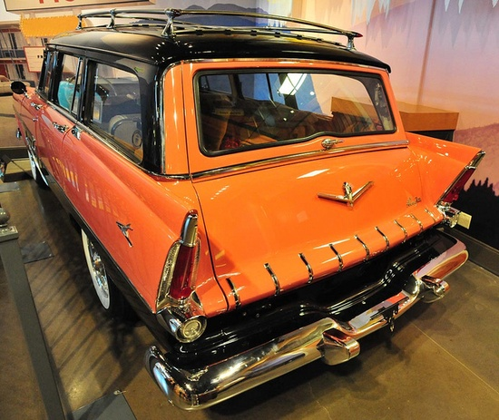 1956 Plymouth sport suburban station wagon