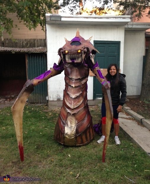 Zerg Hydralisk - Homemade Halloween Costume