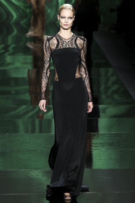 Monique Lhuillier Fall RTW 2013 www.renttherunway... Repin your favorite #NYFW looks to get them from the Runway to #RTR!