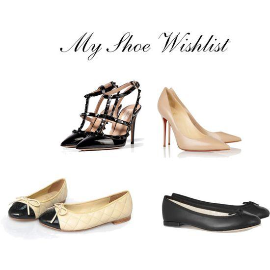 """""""My Shoe Wishlist"""" by stepkasia on Polyvore"""