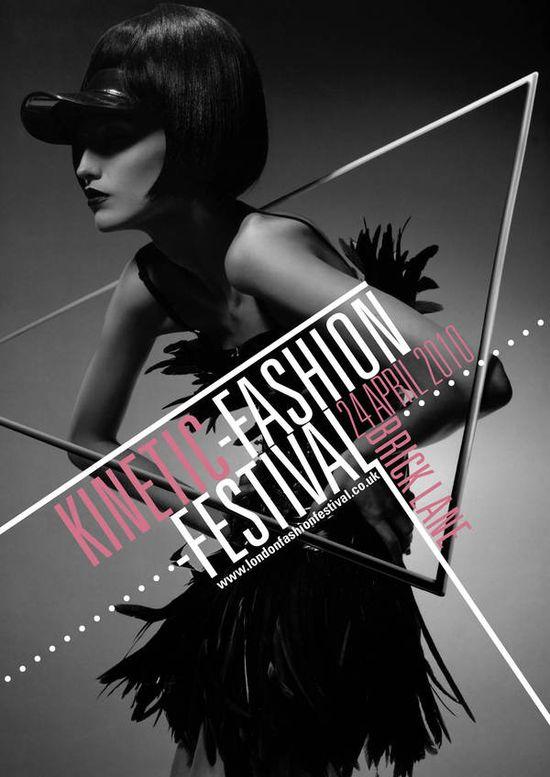 Kentic Fashion brochure by Lewis Mclean, via Behance