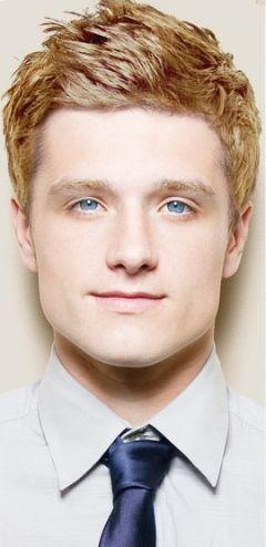 Josh Hutcherson from Hunger Games as @PJ Andersen