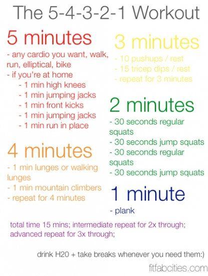 Victoria Secret Original Gift Card - p-interest.in/ 15 minute total body workout jamirroberts