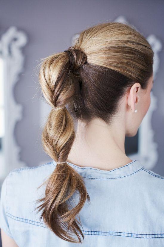 artful ponytail