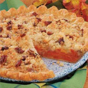 Fresh apricot pie