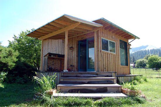 Precious Roy's tiny house
