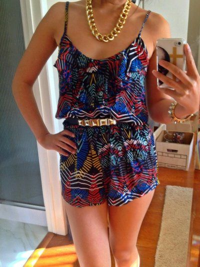 Aztec & Boho! Summer outfit!