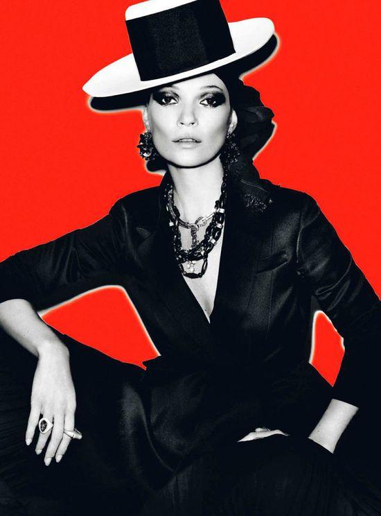 Kate Moss - April 2013 Vogue Paris by Mario Testino