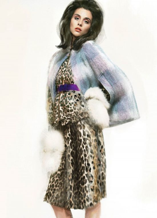 Painted fashion. Model: Ryan @Rachel Hershfield Montreal