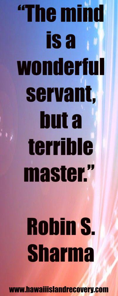 Inspirational Quote from Robin S. Sharma www.hawaiiislandr...